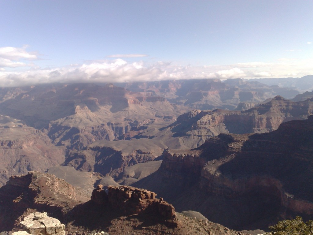 A view of Grand Canyon South Rim