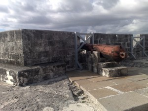 Cannon at Fort Charlotte