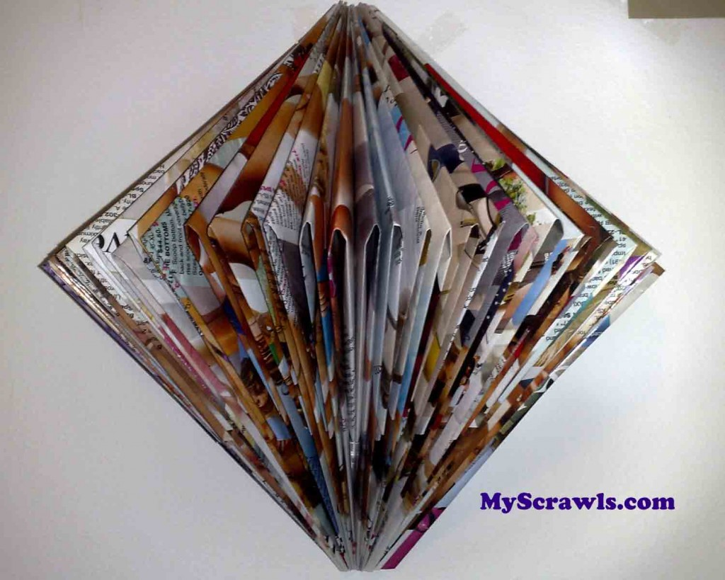 Wall Designs With Craft Paper : Paper craft wall hanging my scrawls