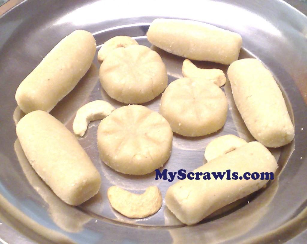 Kaju Roll | Cashew Burfi