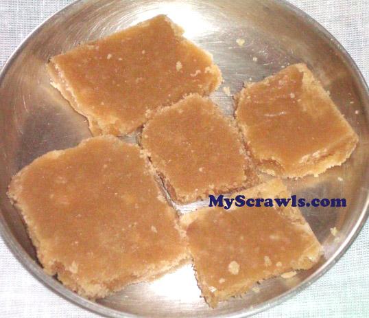 Kadalai Maavu Cake