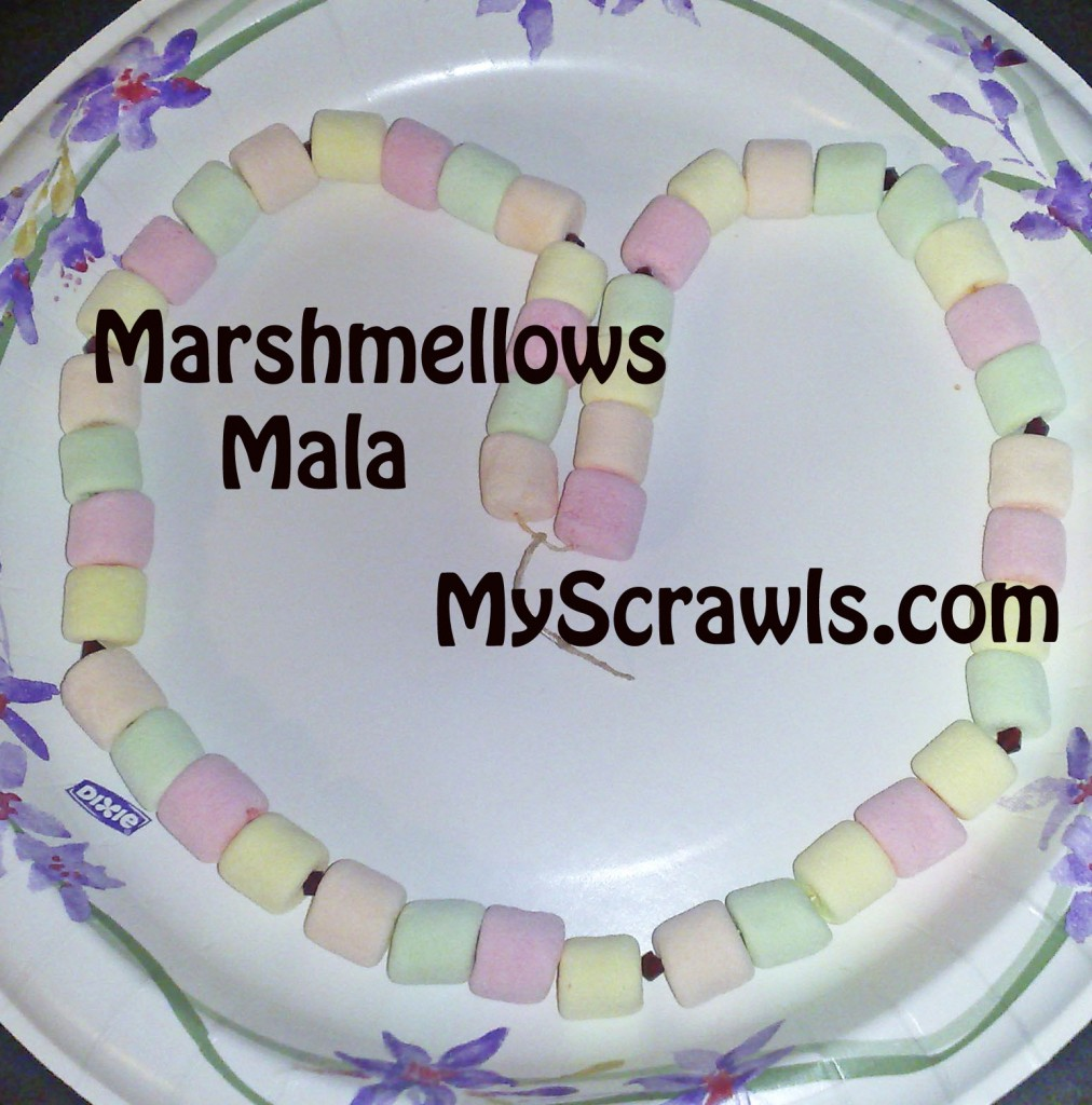Marshmellows Mala