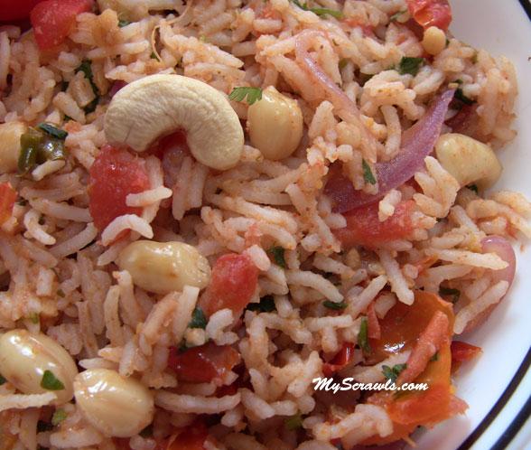 Tomato Bath | Tomato Rice