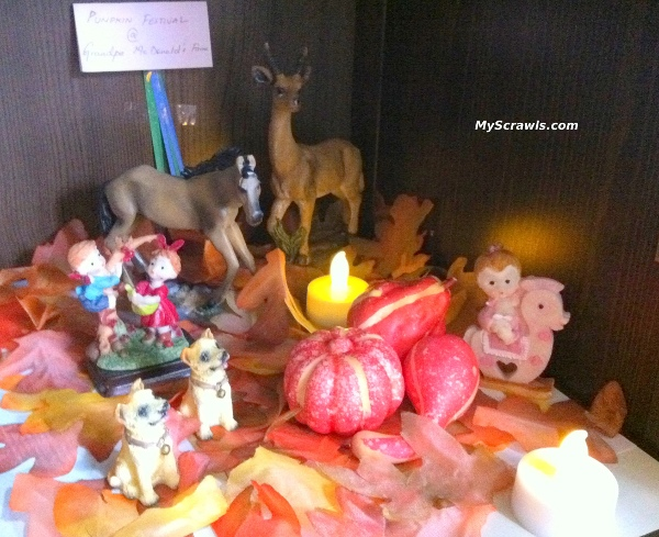 Fall festival in our Kolu - Enjoy the pumpkins :)