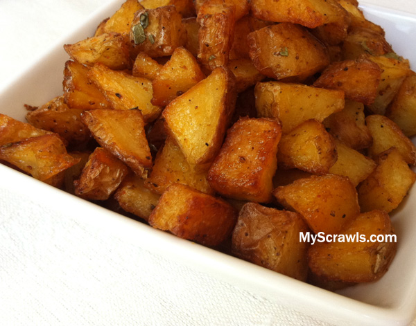 Oven Baked Potato Fry
