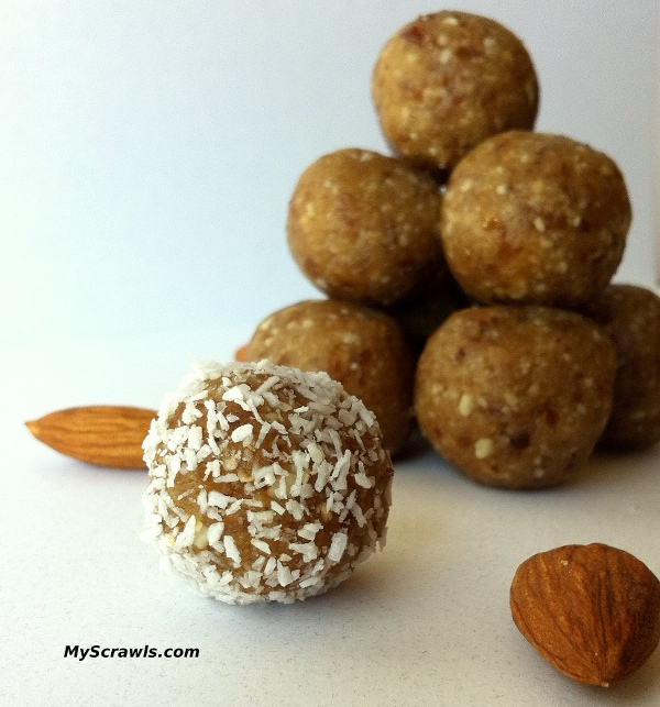 Dry fruit and nuts laddu