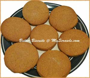 Eggless butter biscuits/ Nei biscuits