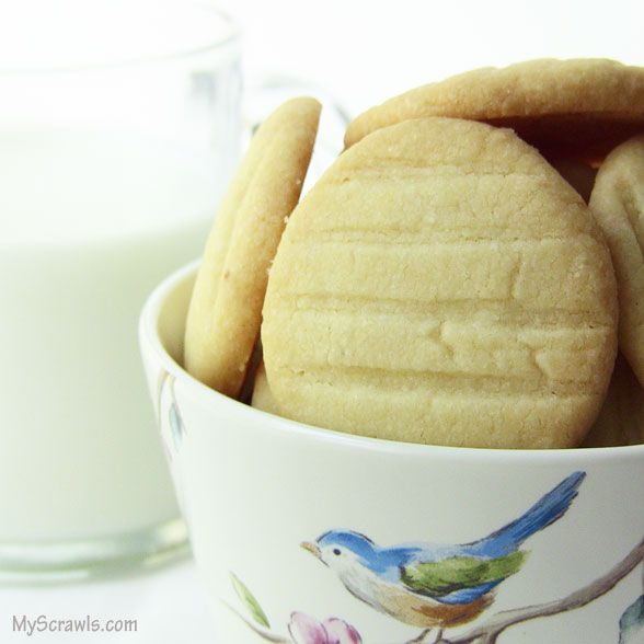 Eggless butter cookie